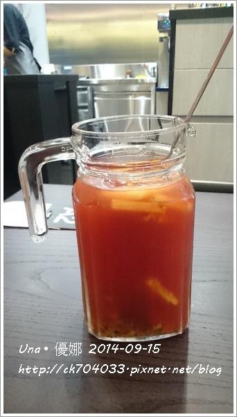 信陽街Waffogato  瓦法奇朵咖啡館-落日水果茶1