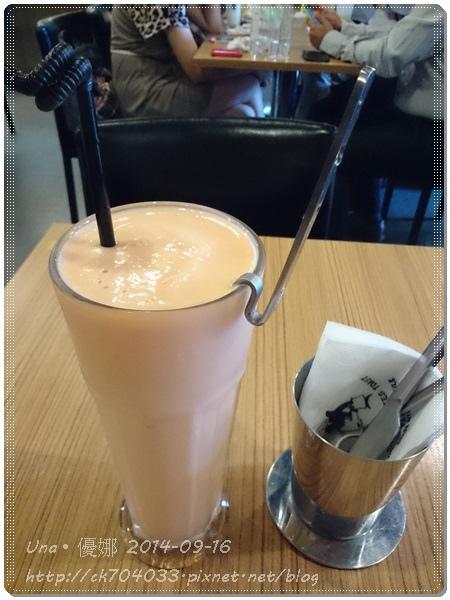 鯊魚咬吐司(館前店)木瓜牛奶冰沙