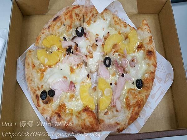 堤諾比薩HOYII北車站店-義式果香燻雞pizza