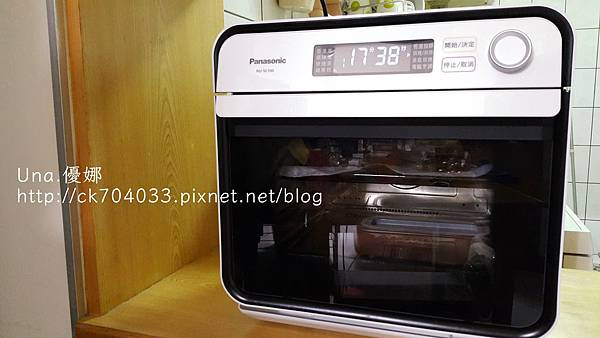 Panasonic 國際牌蒸氣烘烤爐NU-SC100烤雞排-003.jpg