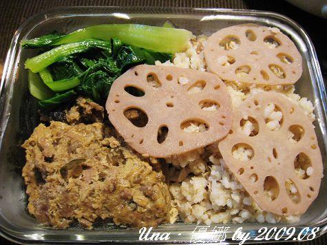 980809晚餐-蓮藕糙米飯2.jpg