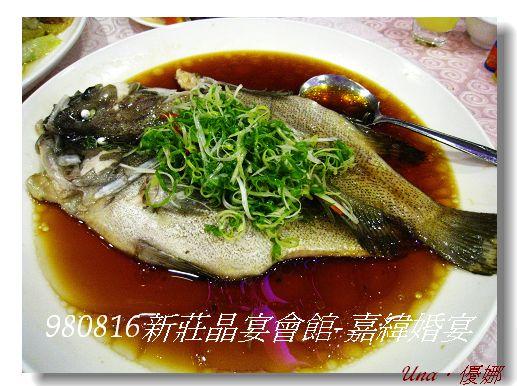 980816新莊晶宴會館-清蒸海石斑.jpg