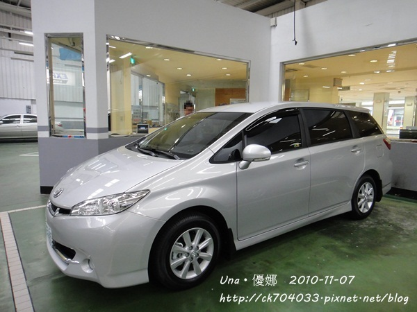2010.11.7 Toyota all new wish 2.0E 特仕車2.JPG