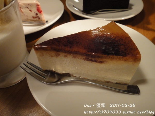 kiki cafe-焦糖輕乳酪.JPG