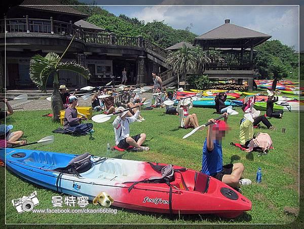 [台北福隆]獨木舟初體驗