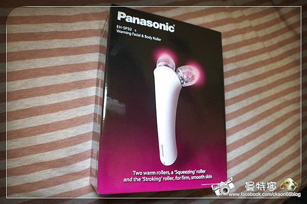 [Panasonice國際牌]溫感美容按摩器