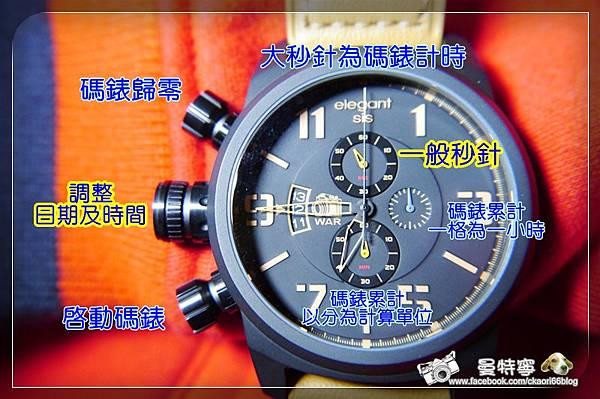 Elegantsis JT-48守護者系列手錶