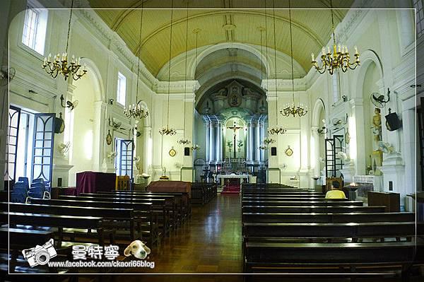 [澳門自由行景點]聖安多尼教堂(花王堂)