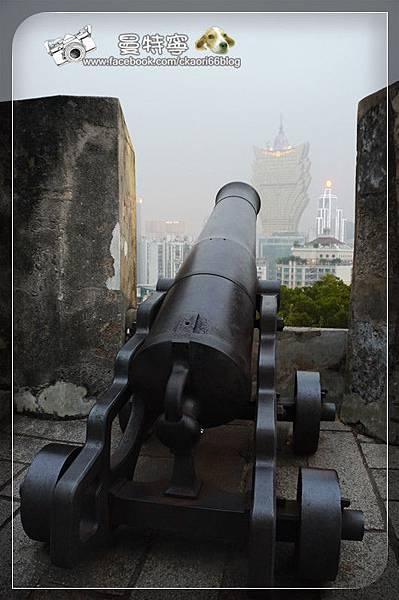 [澳門自由行景點]大炮台