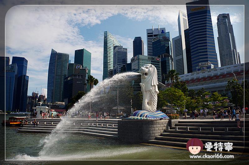 [新加坡自由行景點]魚尾獅公園Merlion Park