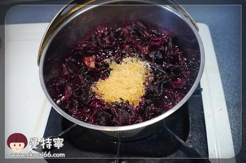 [料理DIY]洛神花果醬