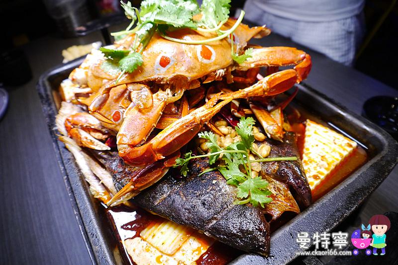水貨炭火烤魚