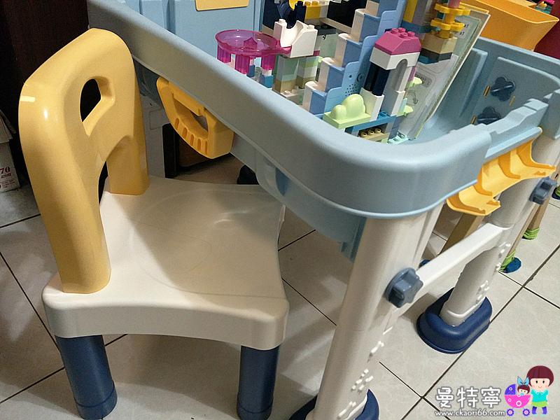 春天寶寶升級款8合1多功能積木桌