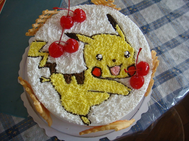 皮卡堂草莓蛋糕床_[生活]晟的皮卡丘蛋糕 @ ckavana2013的部落格 :: 痞客邦