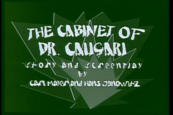 The Cabinet of Dr. Caligari-1