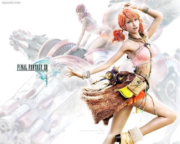FF XIII自製桌布_Vanille 香草