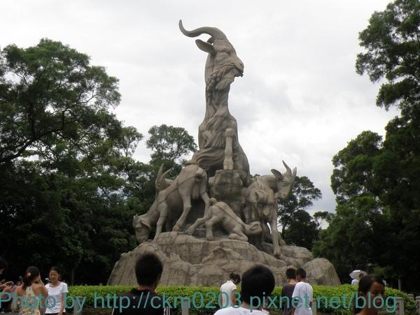 廣州代表性地標:五羊仙庭