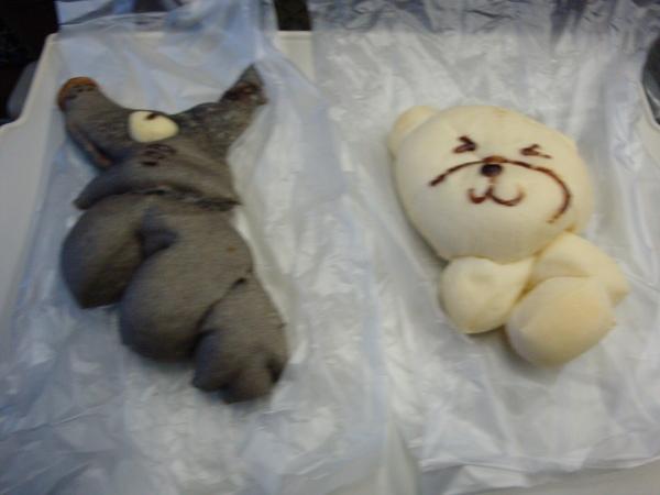 動物造型麵包