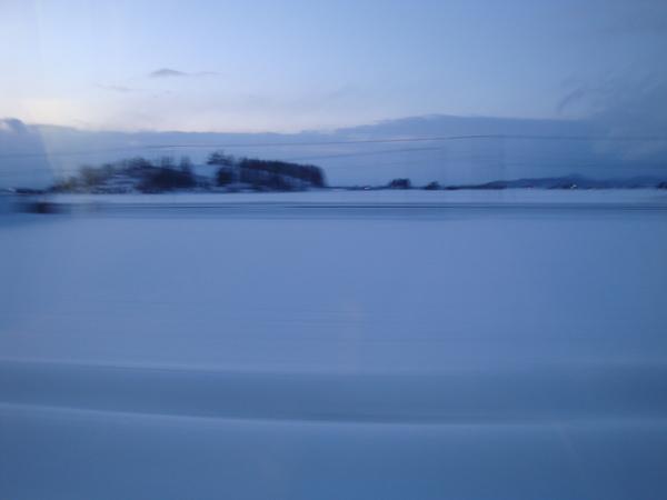 火車外的風景