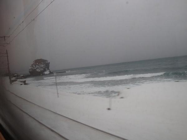 往小樽的火車