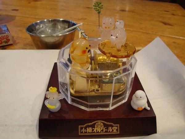 小樽自製音樂盒