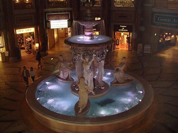 購物中心的噴水池