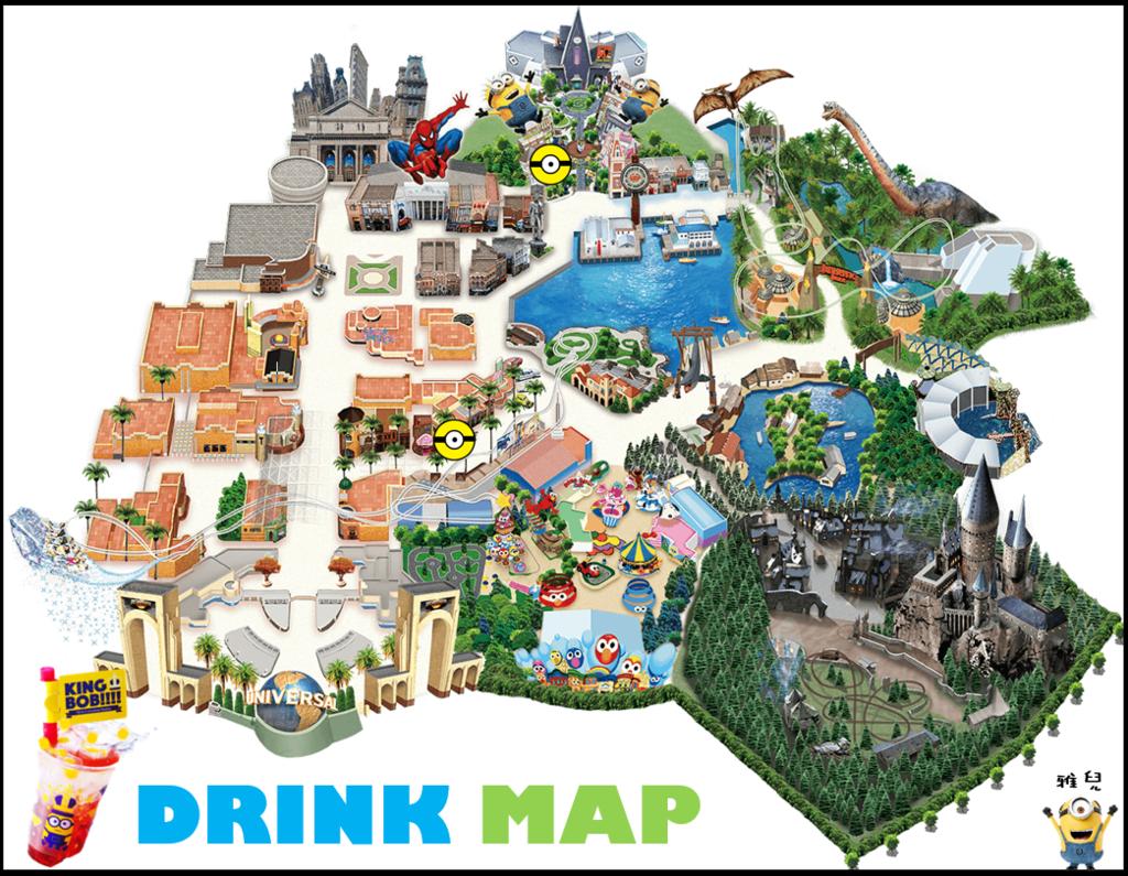 地圖BOB檸檬汽水