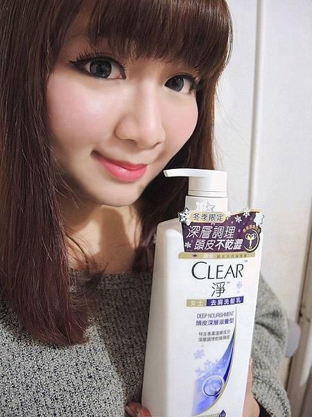 CLEAR 淨女士去屑洗髮乳頭皮深層滋養型 冬季限量雪花版