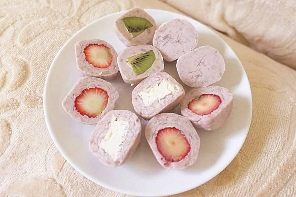 紅土丘陵 真心芋泥球 草莓