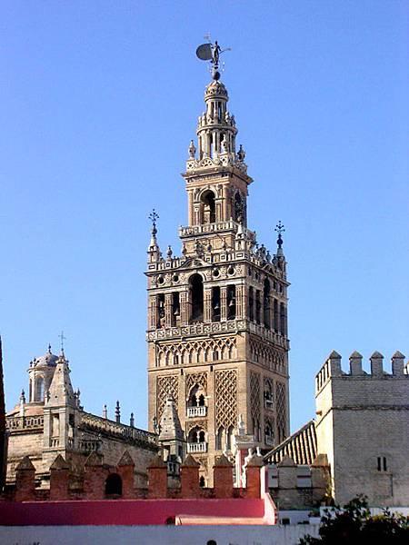 Spain 069-La  Giralda 風信塔.jpg