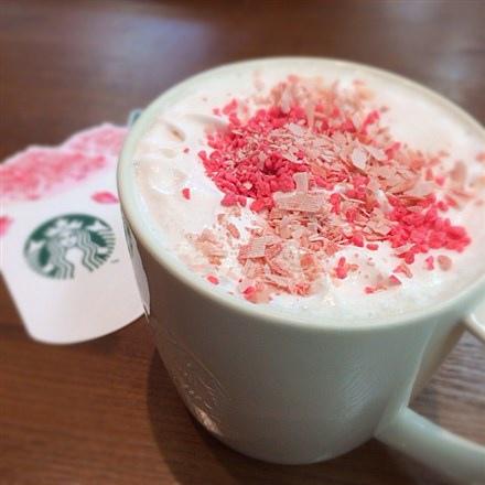 櫻花限定咖啡