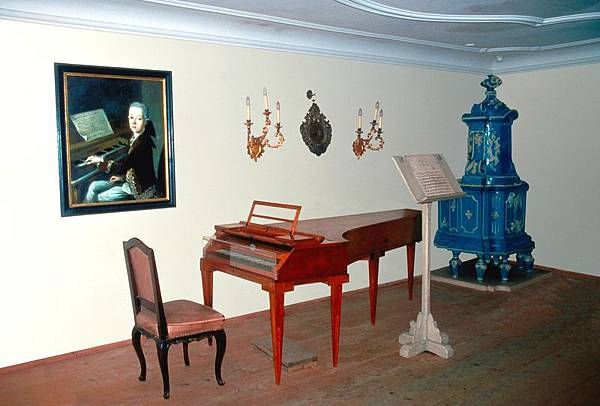 18. Getreidegasse 莫札特的鋼琴