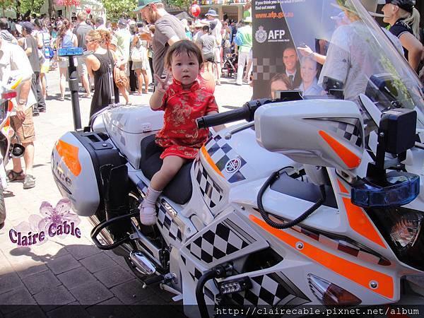 澳洲警察摩托車