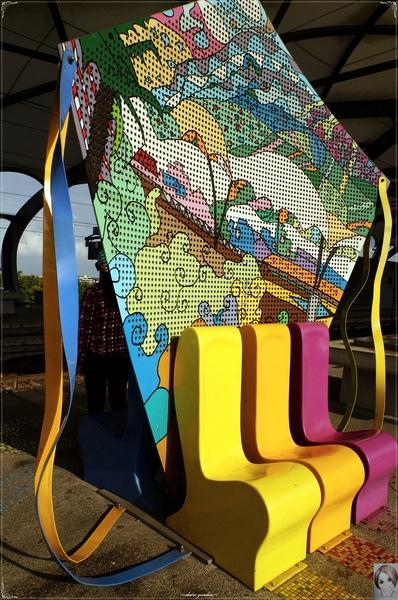 冬山車站:[攝影小旅行]宜蘭 冬山車站&蘭陽博物館~線條與光影的美學
