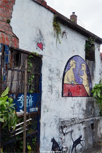 淡水重建街:[淡水地圖漫步行][無料景點台北 淡水重建街~尋找戀愛巷
