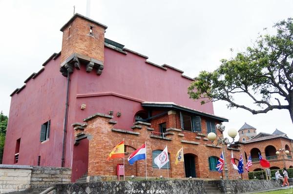 淡水紅毛城:[淡水地圖漫步行][無料景點]台北 真理街~紅毛城、大使館