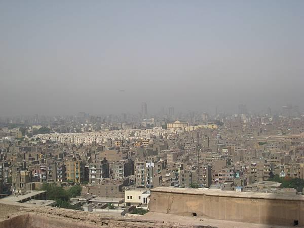 IMG_0430-穆罕默德.阿里清真寺,眺望開羅舊市區壯觀的美景