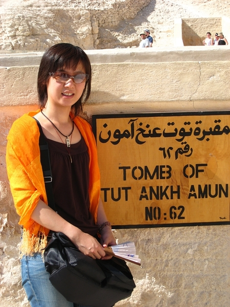 埃及day7-時間不夠無法看到圖坦卡門的...