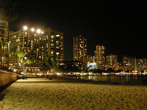 36.Waikiki Beach at Night.jpg