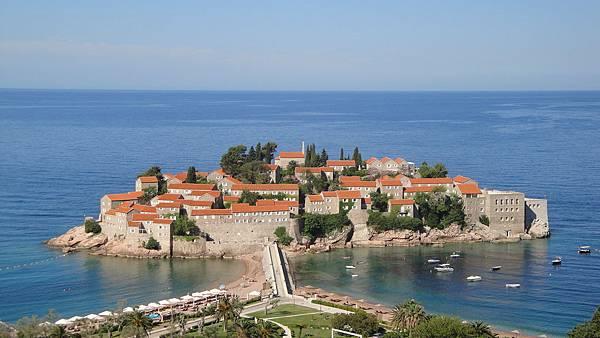 1189.黑山共和國-Sveti Stefan 公主島