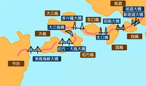 45.瀨戶內海大橋