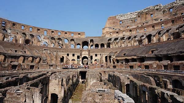 DSC01782.羅馬競技場 Underground tour