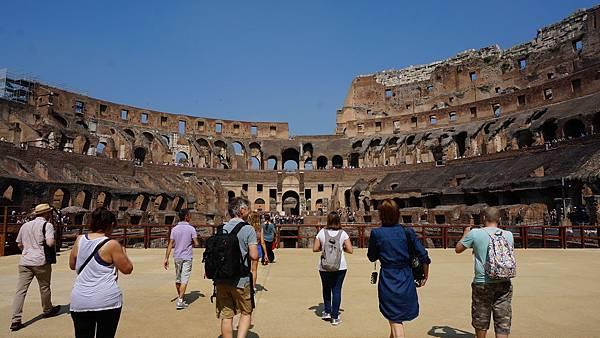DSC01778.羅馬競技場 Underground tour