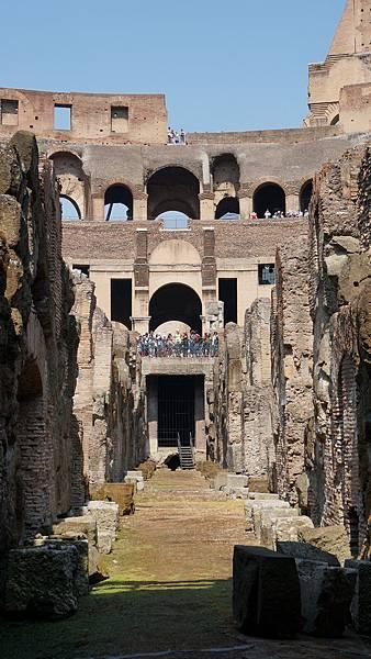 DSC01808.羅馬競技場 Underground tour