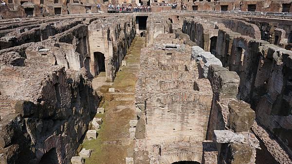DSC01780.羅馬競技場 Underground tour