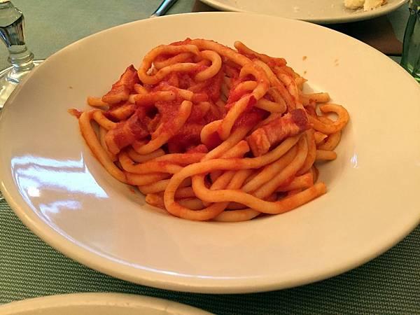 2015-06-10 19.31.50_Dinner at Antica Trattoria Papei_Pici alla cardinale
