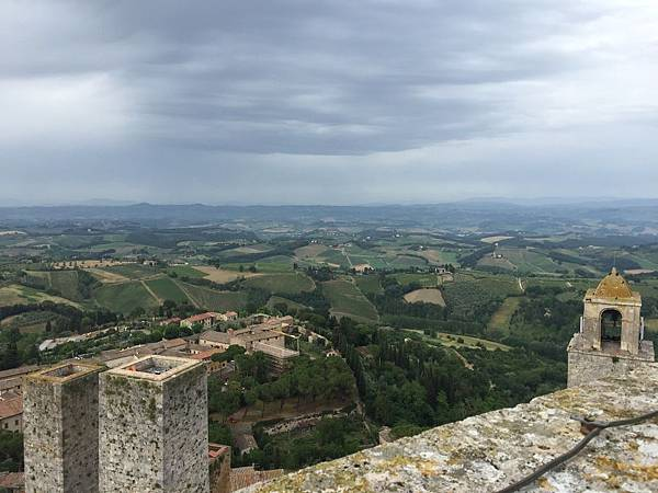 2015-06-12 18.32.42_Torre Grossa 塔頂風光