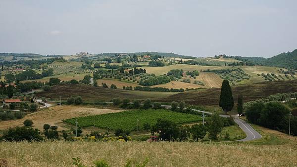 DSC02476.鳳都 to San Gimignano 沿途風光