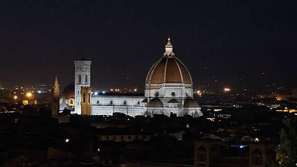 DSC02726.米開朗基羅廣場拍佛羅倫斯夜景