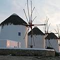 1641.夕陽下的風車